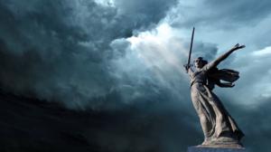 Stalingrad Statue World War Ii Storm Sword 1920x1080 Wallpaper