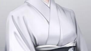 Anime Anime Girls Komatsuna Vertical Simple Background Original Characters Kimono Japanese Kimono Bo 829x1280 Wallpaper
