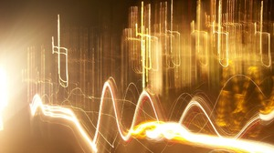 Camera Toss Kinetic Artistic Photography Yellow Lines Abstract Light Light Trails 1920x1440 wallpaper