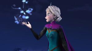 Elsa Frozen Frozen Movie 2000x1000 Wallpaper