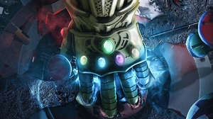Avengers Infinity Gauntlet Thanos 1920x1080 Wallpaper