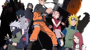 Akatsuki Naruto Deidara Naruto Hidan Naruto Itachi Uchiha Kakashi Hatake Kakuzu Naruto Kisame Hoshig 3965x2802 Wallpaper