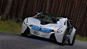 Vehicle BMW Silver Cars BMW I8 BMW Vision 1920x1200 Wallpaper