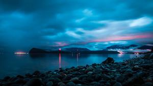 Blue Alaska Sunset 3000x2000 wallpaper