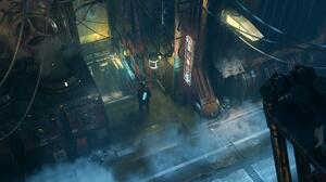 Sci Fi Cyberpunk 3500x1837 Wallpaper