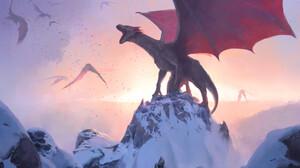 Fantasy Dragon 1920x1454 Wallpaper