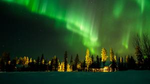 Earth Aurora Borealis 3840x2160 Wallpaper