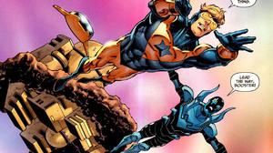 Booster Gold Blue Beetle DC Comics DC Comics 1280x808 Wallpaper