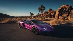 Car Lamborghini Lamborghini Aventador Purple Car Sport Car Supercar Vehicle 2048x1366 Wallpaper