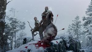 Arrow Blood God Of War 2018 Kratos God Of War Warrior 1920x1080 Wallpaper