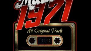Digital Art Red Cassette Tape Vintage 1296x1296 Wallpaper