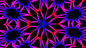 Abstract Artistic Colors Digital Art Kaleidoscope Neon Pattern Psychedelic 1920x1080 Wallpaper