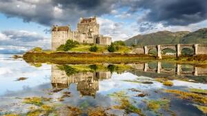 Man Made Eilean Donan Castle 2560x1440 Wallpaper