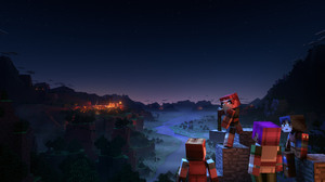 Xbox Game Studios Minecraft Minecraft Dungeons Video Games Video Game Art PC Gaming 1920x1080 Wallpaper