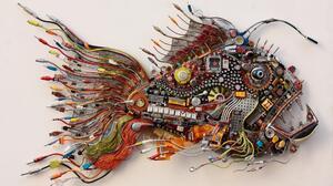 Fish Mechanical 1920x1080 Wallpaper