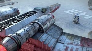 R2 D2 X Wing 3000x1256 Wallpaper