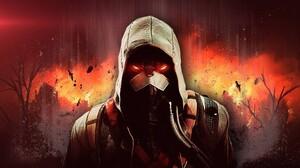 Killzone Killzone Shadow Fall Video Games Red Eyes Glowing Eyes Science Fiction 1920x1080 Wallpaper