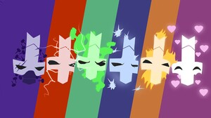 Castle Crashers Video Games Colorful 1920x1080 Wallpaper