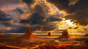 Cloud Desert 2560x1440 wallpaper
