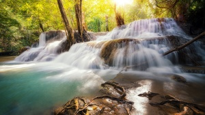 Nature Forest River 2048x1366 Wallpaper