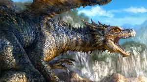 Fantasy Dragon 2400x1350 wallpaper