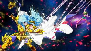 Saint Seiya Andromeda Anime Digital Art 2D Artwork 3200x2000 Wallpaper