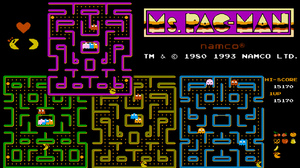 Video Game Ms Pac Man 1920x1080 wallpaper