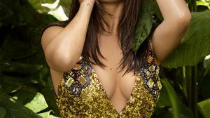 Selena Gomez Women Actress Model Singer Hands On Head Plants Latinas Sunlight Brunette Women Outdoor 2000x2620 Wallpaper