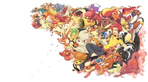 Blaziken Pokemon Camerupt Pokemon Charizard Pokemon Charmander Pokemon Charmeleon Pokemon Chimchar P 1920x1080 Wallpaper