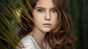 Women Face Portrait Depth Of Field Eyebrows 1280x853 Wallpaper