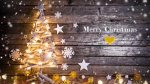 Christmas Christmas Lights Christmas Tree Merry Christmas Wood 2560x1706 Wallpaper