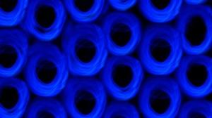 Abstract Lights Blue Pattern Texture Plastic Dark Hole Industrial 5472x3648 Wallpaper