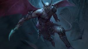 Demon Horns Wings 1920x1369 Wallpaper