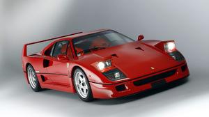 Car Ferrari F40 Hideaway Headlights Red Car Sport Car Supercar 1920x1080 Wallpaper