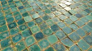 Texture Tiles Turquoise 1920x1080 Wallpaper