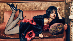 Camila Cabello Sofa 6318x4309 Wallpaper