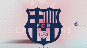 Football Barcelona Logo Champions League Clubs Graphic Design Creativity Photography Colorful Sport  2160x2160 Wallpaper