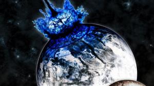 Sci Fi Collision 1680x1050 Wallpaper