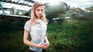 Woman Model Girl Blonde 1920x1080 Wallpaper