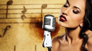 Music Singer 1920x1080 wallpaper