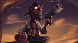 Dark Horse Comics Hellboy 2480x1395 wallpaper