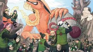 Naruto Kurama Naruto Hinata Hy Ga Naruto Uzumaki Sakura Haruno Neji Hy Ga Ch Ji Akimichi Ino Yamanak 2343x1650 Wallpaper