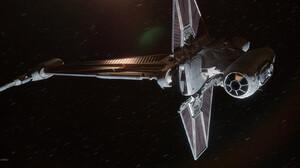Rasmus Poulsen ArtStation Star Wars Ships Digital Art CGi Render Star Wars B Wing Fighter 1920x922 Wallpaper
