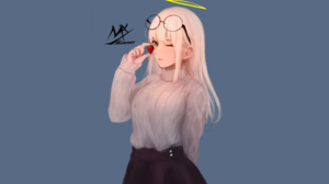 Anime Anime Girls Original Characters MX Shimmer 2700x1578 wallpaper