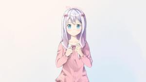 Eromanga Sensei Anime Girls Izumi Sagiri Anime Blue Eyes 1920x1200 Wallpaper