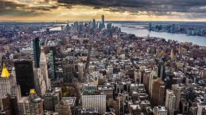 Building City Cityscape Empire State Building New York Skyscraper Usa 2048x1152 wallpaper