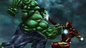 Hulk Iron Man Marvel Comics 3150x1772 Wallpaper