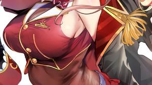 Anime Anime Girls Digital Art Artwork 2D Portrait Display Vertical Thigh Highs Pirates Eyepatches Re 1338x2323 Wallpaper
