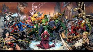 Aquaman Green Arrow Superman Wonder Woman 1920x1080 Wallpaper
