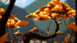 Tree Fall 1920x1280 Wallpaper